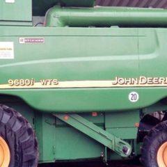 Комбайн John Deere 9680i WTS 2005г.в. нараб -2021 1161м.ч., жатка R 622