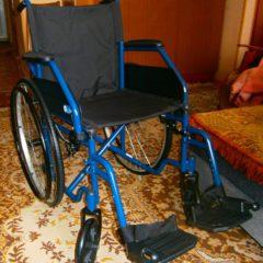 Коляска инвалидная, качественная, привезена из Италии.