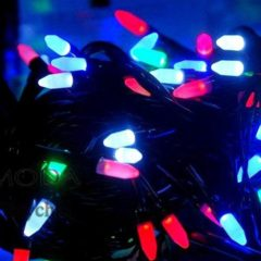 Гірлянда електрична LED 100 перламутр
