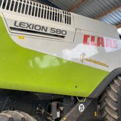 комбайн Claas Lexion 580 Год вып. 2007. мощн двиг, 430 л. с