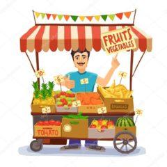 Вакансія агентства: продавець овочів та фруктів.