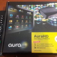 Продам приставку до телевізора Aura HD
