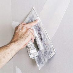 Шпаклювання стін під поклейку шпалер