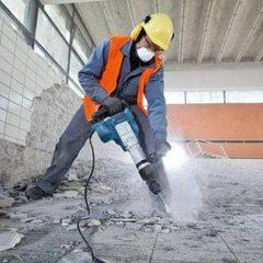 Демонтаж плитки,стяжки,бетона.Демонтаж перегородок.Вывоз строймусора.