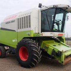 Комбайн зерноуборочный Claas Mega 360, 2006 год выпуска