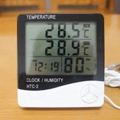 Метеостанция HTC 1 (Часы Будильник Гигрометр Термометр)