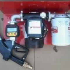 Мини-колонки, насосы, счетчики для перекачки дизтоплива, бензина, гарантия
