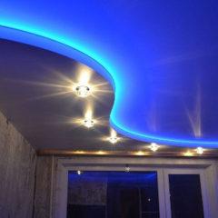 Натяжные потолки с подсветкой от производителя