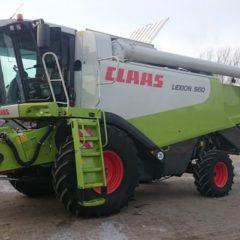 Услуги по уборке урожая комбайнами Claas Lexion