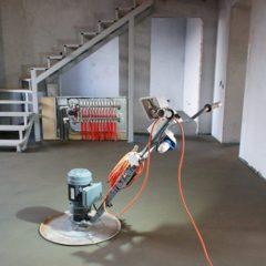 Влаштування стяжки підлоги машинним способом