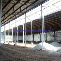 Строительство зернохранилищ, овощехранилищ, ангаров для животных, Украина.