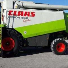 Комбайн зерноуборочный Claas Lexion 460 Evolution, год выпуска - 2003
