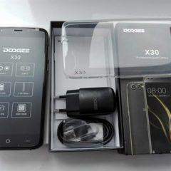 Doogee X30 2/16 ГБ Андроид 7, мощная батарея + пленка + чехол бампер