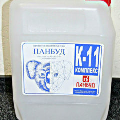 Добавка комплексна пластифікуюча та водоредукуюча К-11