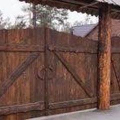 Ворота дерев'яні