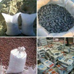 Песок, цемент, щебень в мешках с доставкой в Запорожье