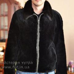 Чоловіча куртка, хутро -бобер. На замовлення, пошиття
