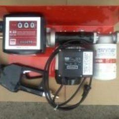 Насоси, міні АЗС (колонки), лічильники для перекачуваня дизпалива, бензину