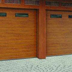 Гаражные секционные ворота Carteck