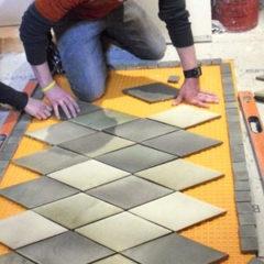 Вкладання плитки, плиточні роботи