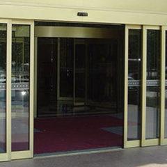 Телескопические раздвижные двери KS4000