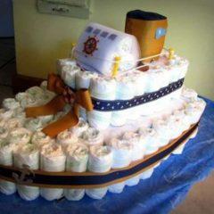 Торт з памперсів