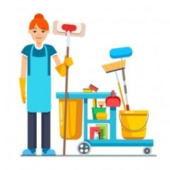 Вакансія агентства: прибиральниця