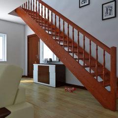 Виготовлення дерев'яних поручнів для сходів