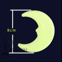 Луна фосфорная, светится в темноте