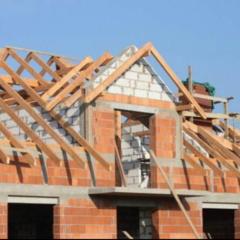 Будівельні роботи, дахи, кладка, фасади