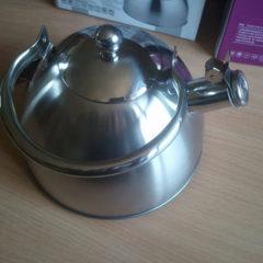 Індукційни чайник на 3 літра зі свистком, новый, екологічний та стильний.