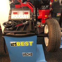 Балансировочный стенд полуавтомат Best W60NB.