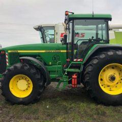 трактор John Deere 8400 1999г.в. нараб. 9680м.ч. Мощность: 260л.с. КПП: