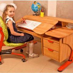 Детская парта Pondi Эргономик NEW, письменный стол Понди