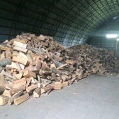 Колотые уложенные дрова твердых пород в Запорожье