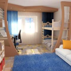 Здійснюємо ремонт дитячої кімнати в квартирі, будинку