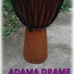 """Adama Drame 14 дюймов, подписная модель """"джембе"""", новое."""