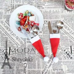 Новогодняя шапочка Деда Мороза