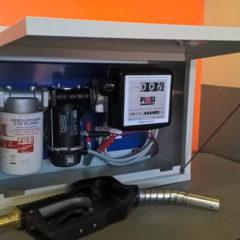 Заправочні міні-колонки АЗС для перекачування дизпалива, бензину
