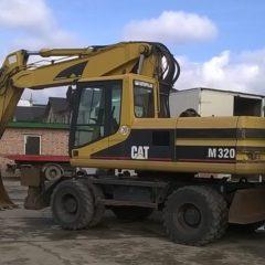 Послуги екскаватора CAT-M320 в Хмельницькій області