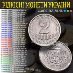Куплю монети України, РРФСР та СРСР