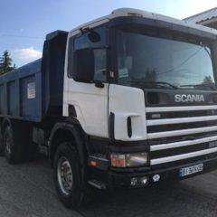 Самосвал Scania F-370, 1999 г.в,. (двигатель 370 л.с и КПП 2015 г.в.).