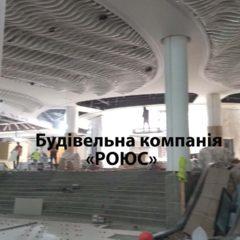 Монтаж подвесного потолка, армстронг, грильято, ламельный потолок