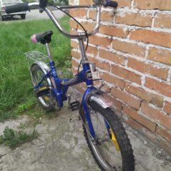 Продаю дитячий б/у велосипед, для хлопчика від 7 років.