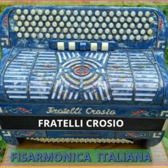 Итальянский пятирядный фирменный баян- Fratelli Crosio.