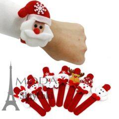 Новогодний браслет на руку