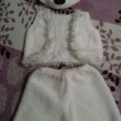 Прокат костюм білого ведмедика