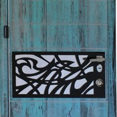 Вхідні сучасні двері