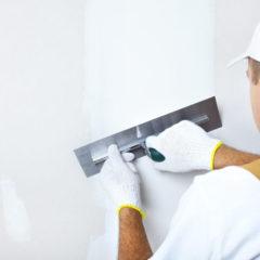 Шпаклювання стін, стель, фарбування, поклейка шпалер