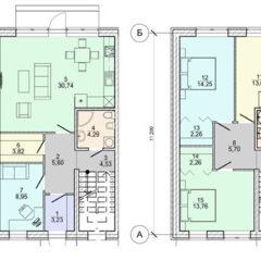"""Таунхаус у введеному в експлуатацію котеджному містечку """"Family House"""""""